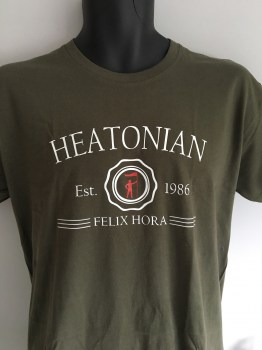 Heatonian t-shirt green